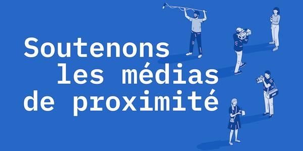 Une initiative pour encourager les Français à soutenir leurs médias de proximité