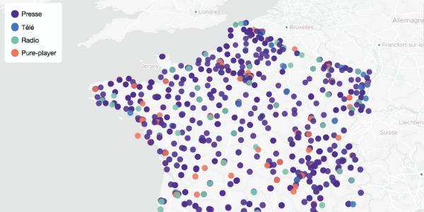 Combien de médias locaux en France ?
